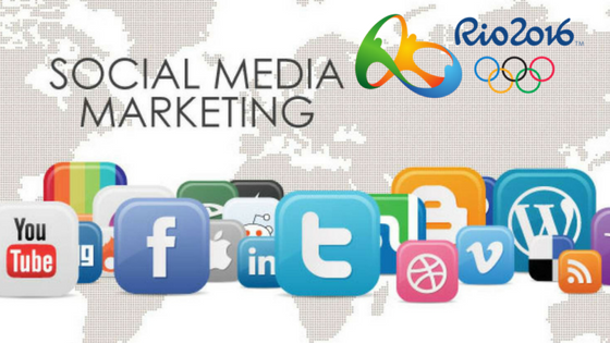 social media marketing rio olympics