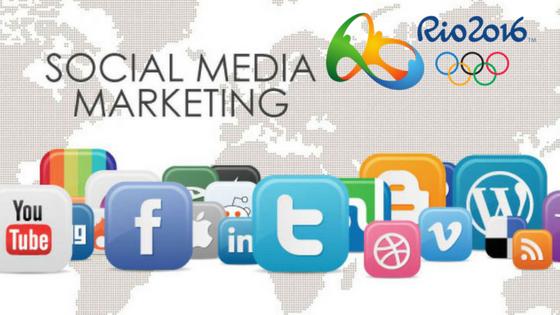 social media marketing rio olympics