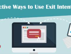 exit intent popup