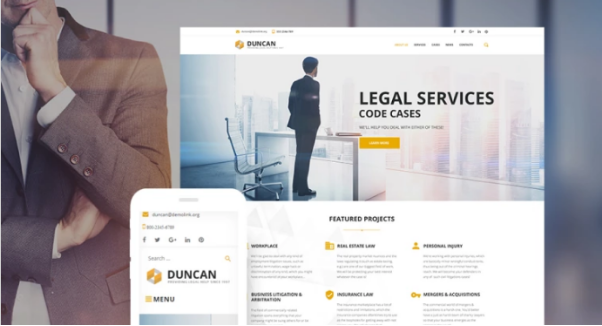 Wordpress themes DunCan