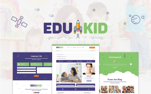 Wordpress themes Edukid